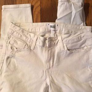 White Paige jeans